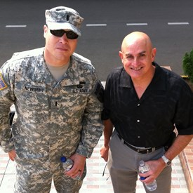 Colonel (R) Tony Diaz is one of the most charismatic leaders I met in 20 years in the Army. The First time I talked to him was during a very tense negotiation with just him myself and another very senior person from a different Army after something just happened. If you see me in person ask me about this story. It is a good one.