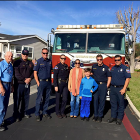 Thank you to HBFD (from Heil/Springdale) and HBPD for coming to the annual Muscular Dystrophy Association Christmas party hosted and sponsored by the Surf City Optimist Club. I am proud member of the club.
