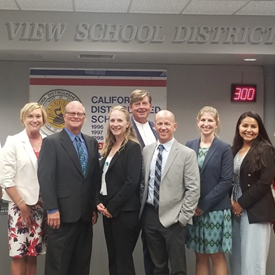 Thank you to the LA Times for photographing our new administrative hires in OVSD for 2019-2020.