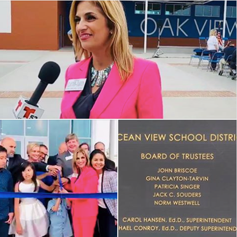 Oak View Gym Grand Opening and Ribbon Cutting