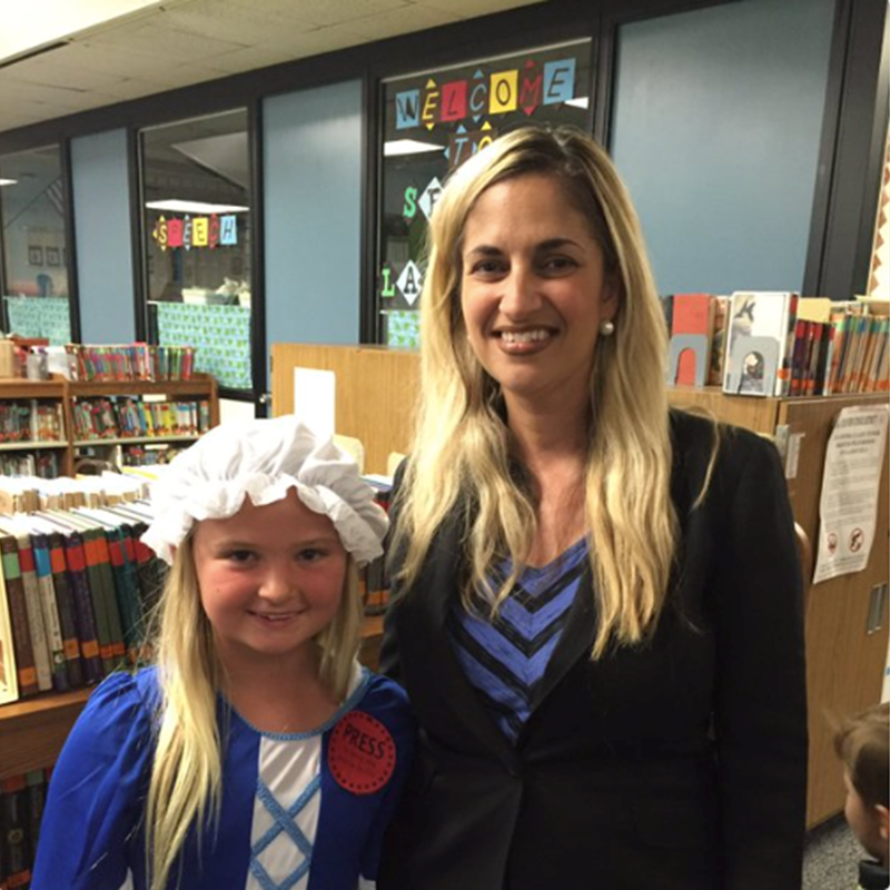 At Living Museum at Golden View Elementary School, 2016