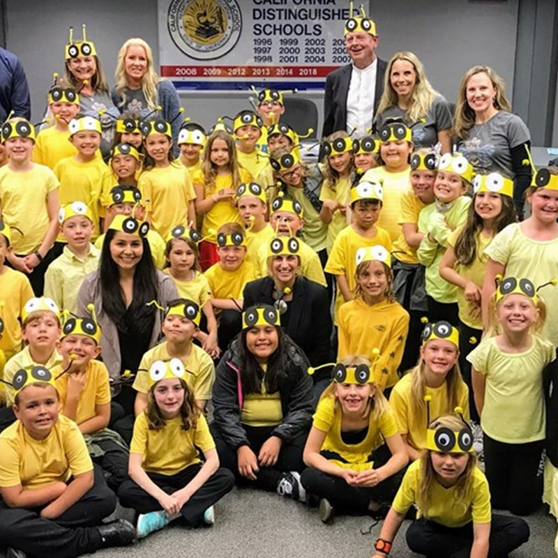 Hope View bees were all the buzz at our board meeting, so fun!