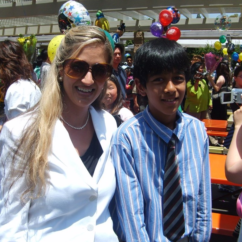 With 6th grade student for promotion in the ABC Unified School District, Cerritos
