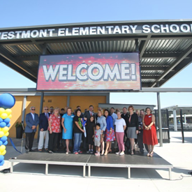 Ribbon cutting at Westmont!