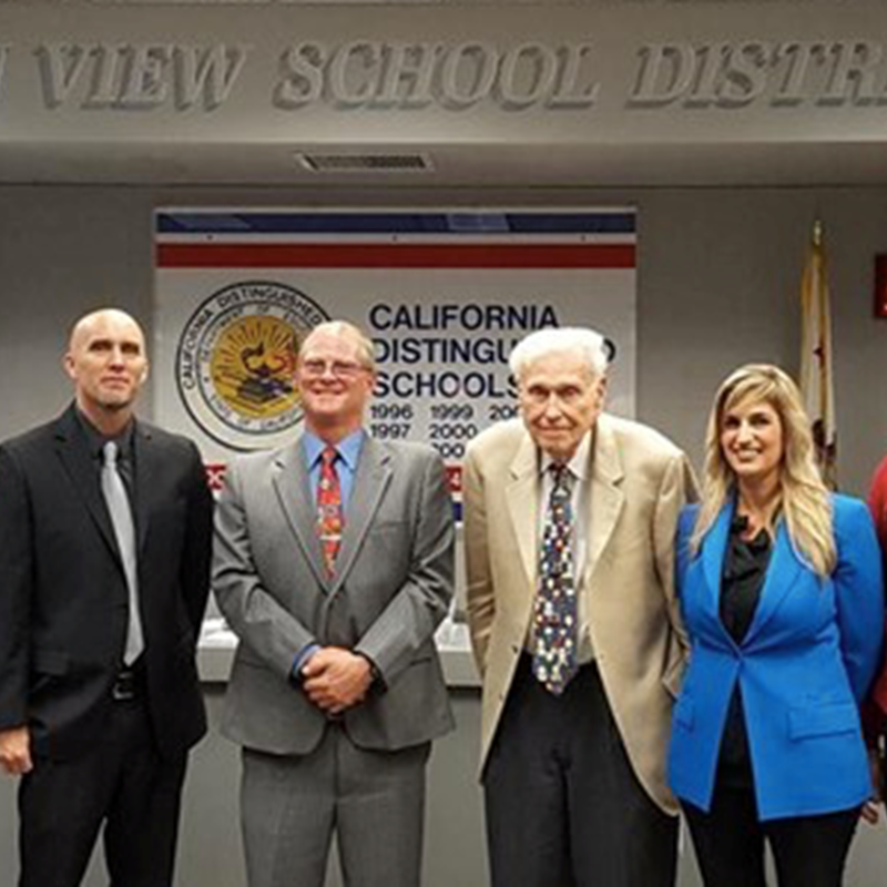 At the OVSD Board of Trustees swearing in and reorganizational meeting. I was not only sworn in, but also reelected by my colleagues to serve a third consecutive year as board president, December 2016.