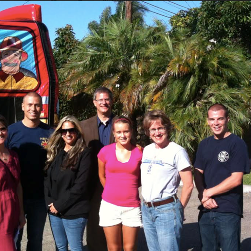 Thanks to the HB Firefighters Association for supporting my candidacy, 2012