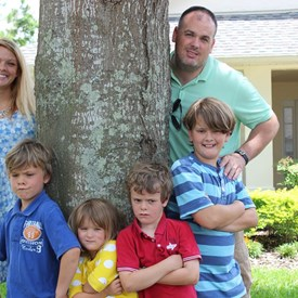 The Singleton's have four fantastic children that have lived around the world.