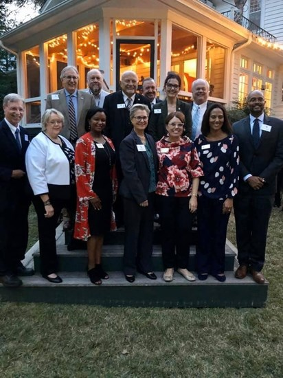 """Representative Deb Butler was the featured speaker at a """"Now or Never"""" event in Raleigh, NC on 10/30/19. She is pictured here with electeds and candidates from around the state."""