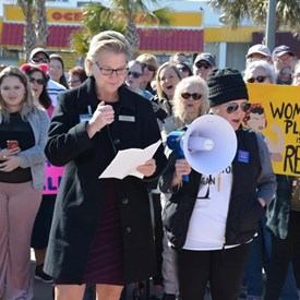 Rep. Deb at the 2018 Myrtle Beach Women's March