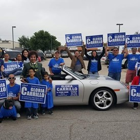 2016 Gloria Carrillo Campaign for School Board.