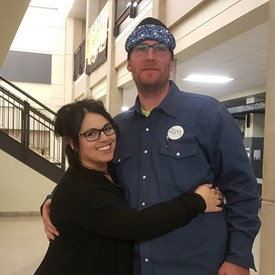 Brandi and her husband Chad.  He is always there to help support her.  Each City Council member makes a commitment and it requires them to spend time away from home.  It's a family commitment for the betterment of the community.  We thank the current council members and all those before them for making this sacrifice.