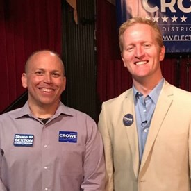 4/28/17 Derrick Crowe for Congress Kick-off