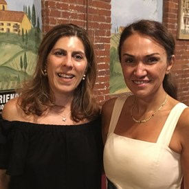 Thank you to Suzy Saidi and Sima Guven for organizing and planning a beautiful and delicious evening out!