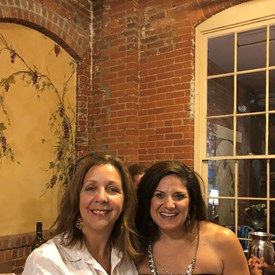 BTDC representatives Laura Begg and Catherine Santaiti enjoying the evening.