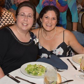 Nancy D'Andrea and Catherine Santaiti Photo Credit: Betsy Bacot-Aigner