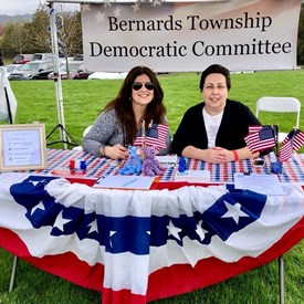 Ana Alonso and Nancy D'Andrea at the BTDC table.