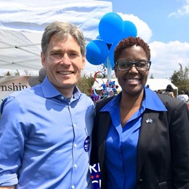 Tom Malinsowski for CD-7 and Shanel Robinson for Somerset County Freeholder.