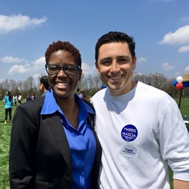 Strong Democratic Candidates! Robert Mascia for Bernards Township Committee with Shanel Robinson for Somerset County Freeholder.