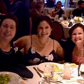 Nancy D'Andrea, Catherine Santaiti & Sally Booth. Photo Credit: Betsy Bacot-Aigner
