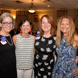 Ann Parsekian, Sally Booth, Joan Bannan Harris, and Nancy Cook...the 2017 Democratic campaign for Bernards Township Committee! We are so proud of this team!!