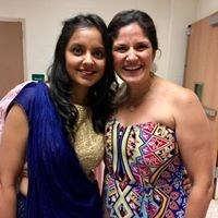 BTDC members Aditi Tandon and Catherine Santaiti.