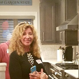 Campaign Manager, Suzanne Ring Glassman -  Always with a smile!