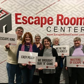 Masters of escape caught the Speak Easy Kingpin before he eluded them!