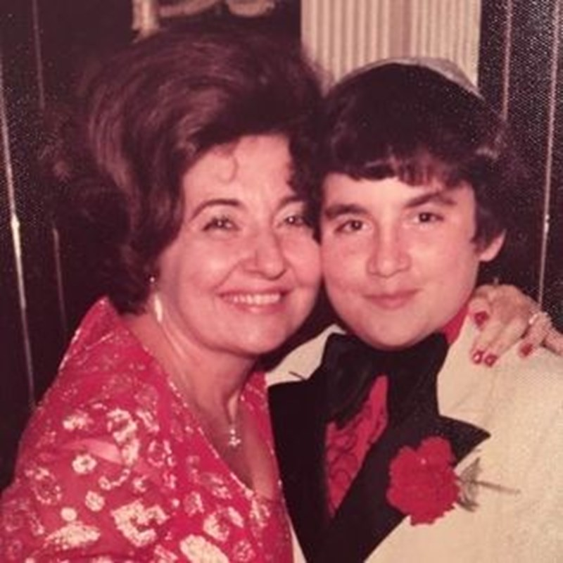 My Bar Mitzvah with my Mother