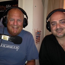 Former Redondo Beach mayor Steve Aspel and Aurelio Mattucci.