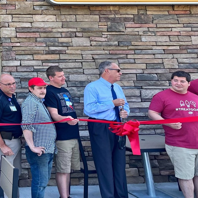 Dairy Queen expansion ribbon-cutting