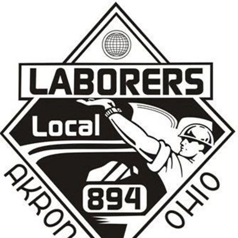 Endorsed by Laborers Local 894 in Akron, an affiliate of Laborers' International Union of North America, AFL-CIO