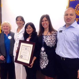Joining the Irvine Rotary Club