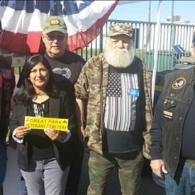 Supporting our Veterans for a Veteran's Cemetery
