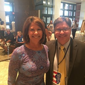 With Congresswoman Cheri Bustos.