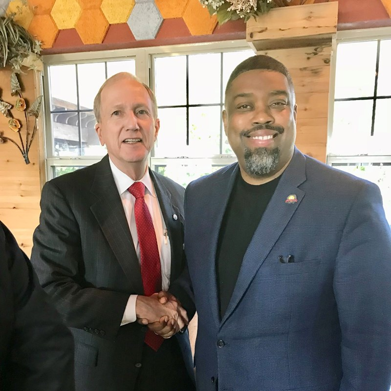 Fizer with County Attorney Vince Ryan