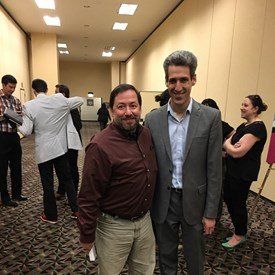 With State Senator and Gubernatorial Candidate, Daniel Biss.