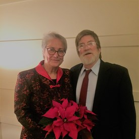 My husband Jim and I wish everyone a very Merry Christmas and Happy Holidays!