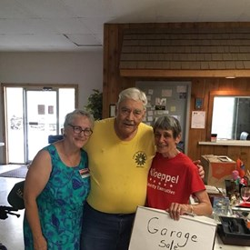 A special thanks to those who helped out with the Mahomet garage sale fundraiser!