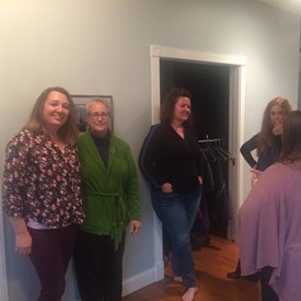 Spent a great time (along with other Democratic candidates Leah Taylor and Ramona Sullivan) chatting with constituents about County issues!