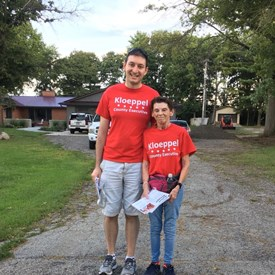 A big thanks to my faithful canvassing team!
