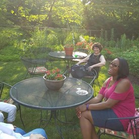 We had a wonderful time at our July Garden Party Fundraiser!