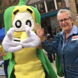 Chatted with voters at the Urbana Sweet Corn Festival!