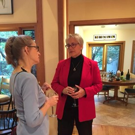 Many thanks to neighbors Steve and Deb Rugg for hosting a Meet-n-Greet for my campaign!