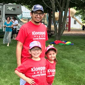 Thank you to all of my supporters walking in parades and attending events with me this summer!