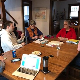 Gearing up with the campaign team to start canvassing in interest with the hope of warmer spring temperatures and more daylight right around the corner!