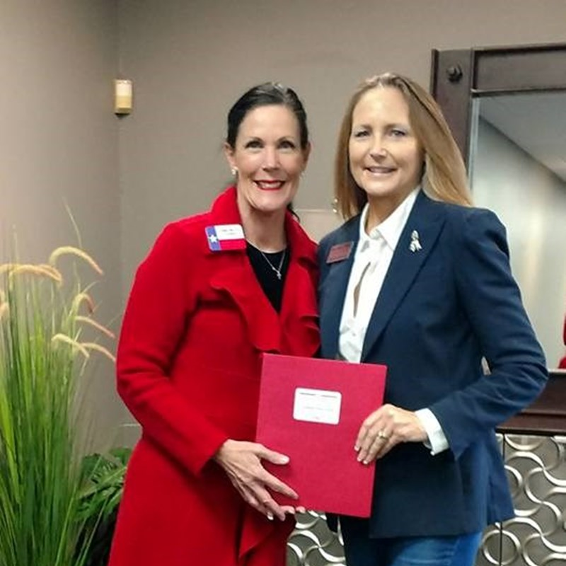 11-11-17  Officially filed for JP#3 with Burnet County Republican Party Chairwoman, Donna Wilcox