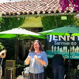 Friend, Supporter, and PVUSD Trustee Candidate Jennifer Holm