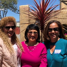 Some of our team: Jenny with Doreen Martinez & Rachel Williams (Campaign Manager)
