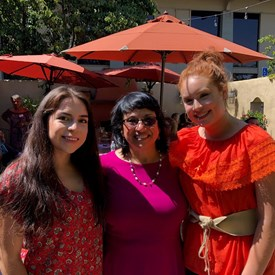 Jenny with former  Watsonville Youth City Council members, Dulce Sixtos and Juanita Alvarez.  Both are on college summer break and showed their support for Jenny as a mentor.  These young ladies are amazing!