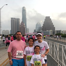 Mario's mother died of cancer as did his two grandmothers, and grandfather.  This terrible disease continues to devastate our families.  Mario is joined with his family in supporting the Susan G. Komen Race for the Cure!